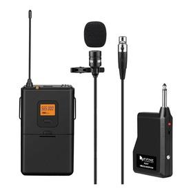 Microfone Sem Fio Fifine K037 Cardióide Preto