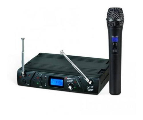 microfone sem fio karsect kru361 c 1 mic novo nf e garantia