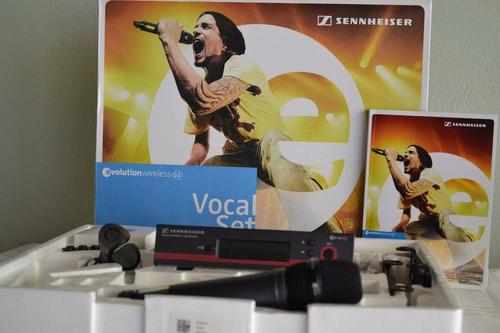 microfone sem fio sennheiser ew135 g3 original