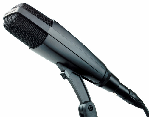 microfone sennheiser md 421 ii studio - legítimo + brindes!