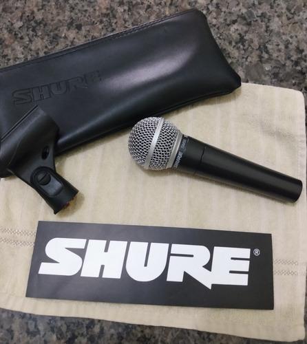 microfone shure original sm 58