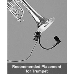 microfone shure para instrumentos com fio xlr - beta98h/c