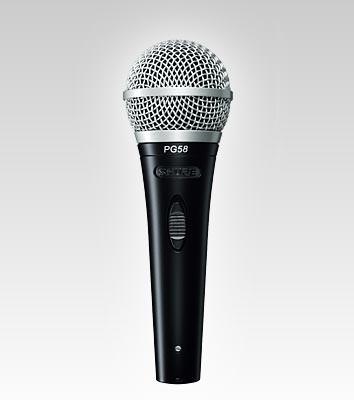 microfone shure pg 58