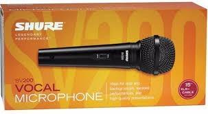 microfone shure shure