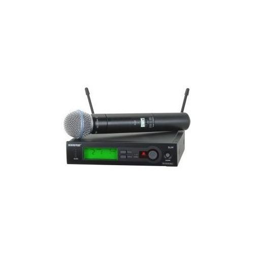 microfone shure slx24 beta 58a