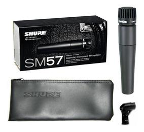 Microfone Shure Sm57 Lc Original Made In México Garantia