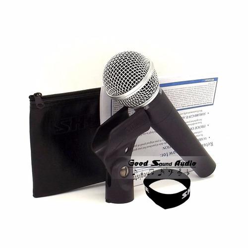 microfone shure sm58 lc cardióide
