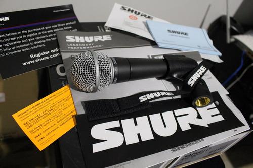 microfone shure sm58 lc original / méxico / garantia