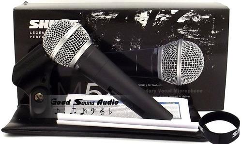 microfone shure sm58 lc sob encomenda leia anuncio