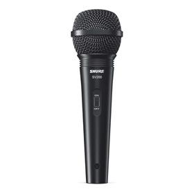 Microfone Shure Sv200 Cardióide