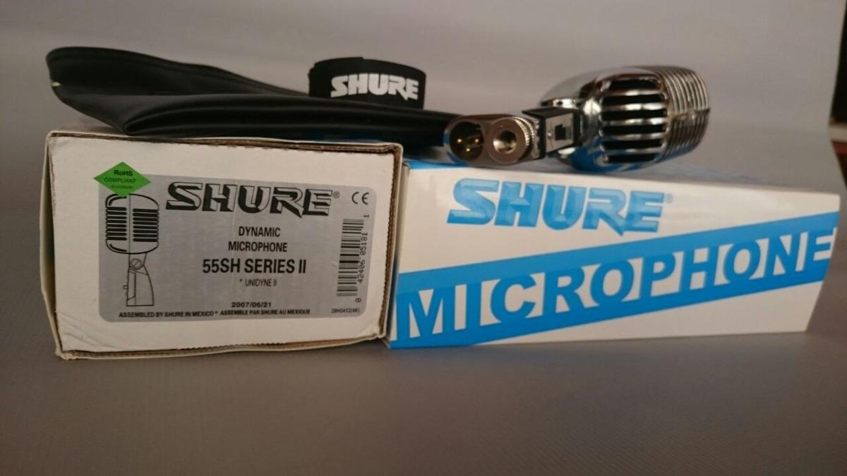 microfone shure vintage retr 55sh series ii unidyne r 544 99 em mercado livre. Black Bedroom Furniture Sets. Home Design Ideas