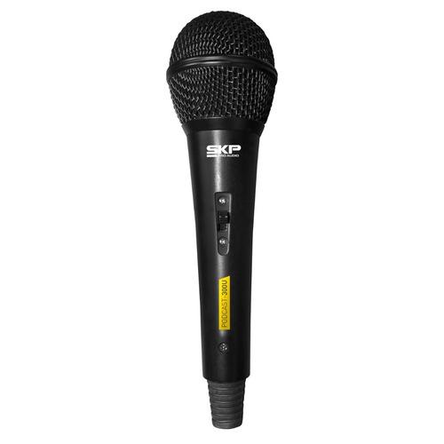 microfone skp podcast 300 u dinâmico cardióide usb