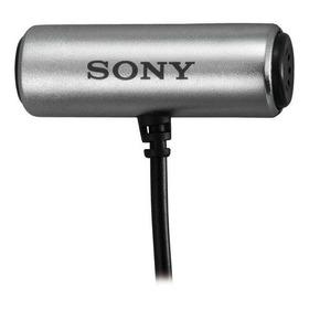 Microfone Sony Ecm-cs3 Omnidirecional Cinza