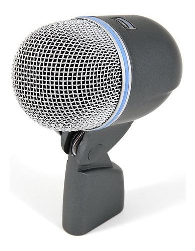 microfone supercardióide p/ bumbo shure beta 52a - ac1744