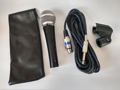 microfone tag sound tm-584 cabo caximbo bag
