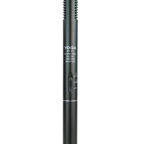 microfone uni-direcional shotgun csr yoga ht 81 boom status