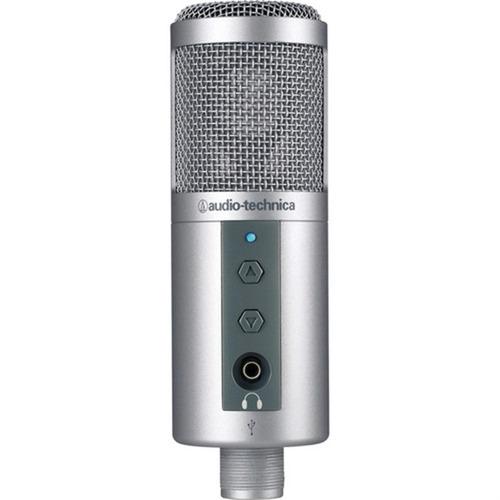 microfone usb audio technica condensador atr2500-usb