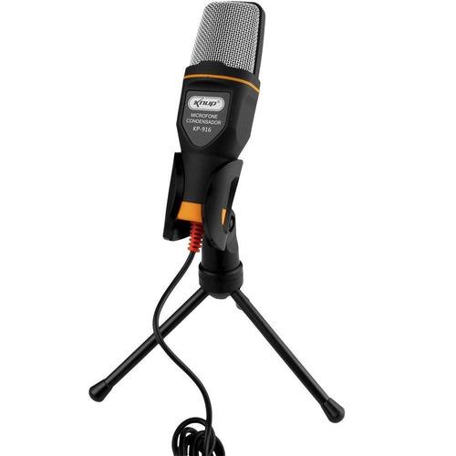 microfone usb condensador ps3 xbox one ps4 wii xbox 360 pc