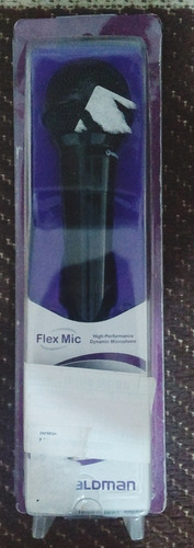 microfone waldman com fio entrada: 6.3 mm