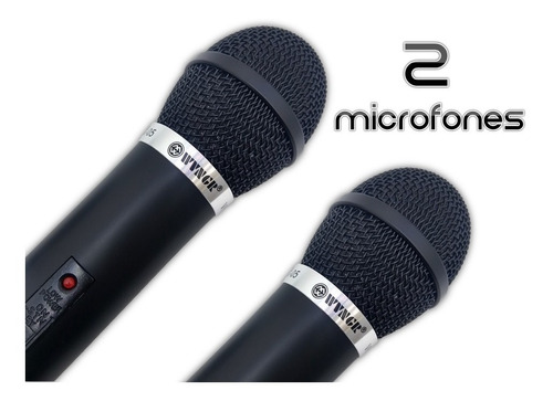 microfones duplo sem fio wvngr top