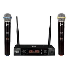 Microfones Sem Fios Dylan Udx-02 Multi Preto