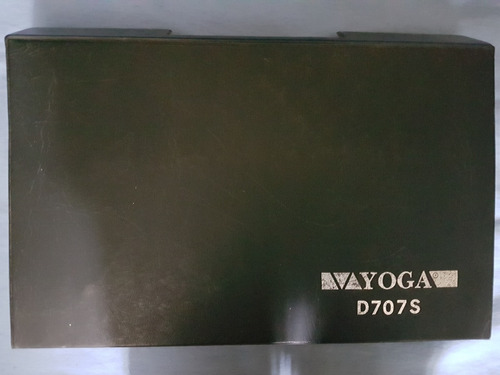 microfones yoga d-707s (estojo c/ 5 unidades)