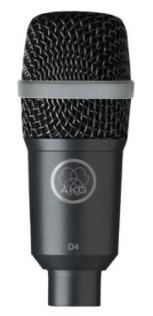 microfono  akg d4