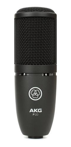 microfono akg p120 estudio condenser