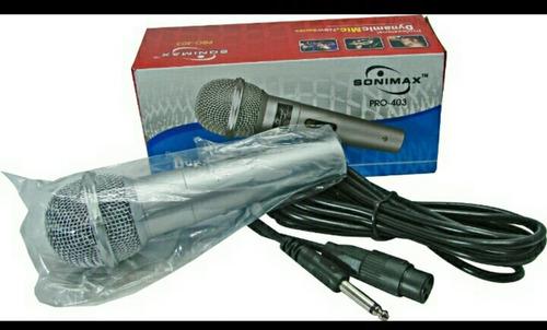 microfono alambrico profesional