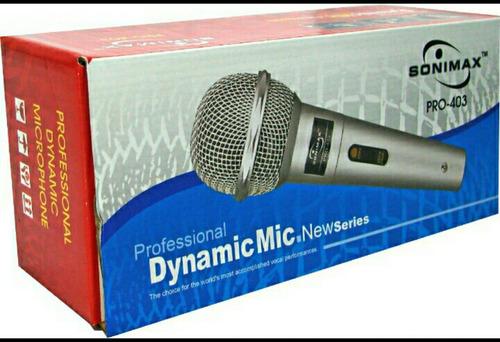 microfono alambrico profesional  cable de 3 metros de largo