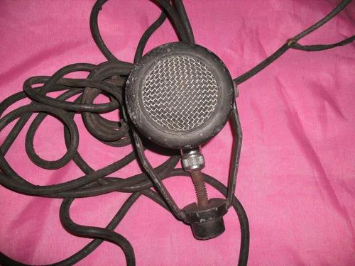 microfono antiguo-turner dynamic u9s(año 30 a 50) sin el pie