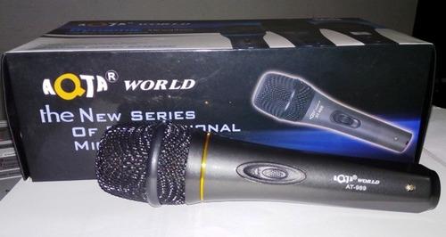 microfono at989 dynamic aqta con cable tenemos pto de venta