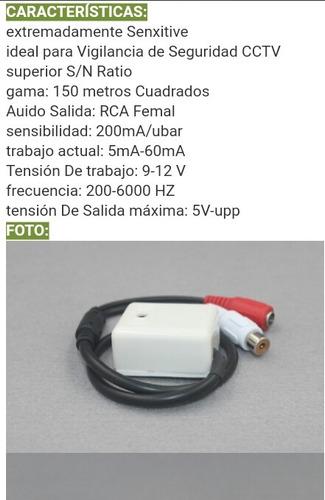 microfono audio cctv