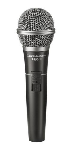 microfono audio technica at pro 31 dinamico vocal c/ switch