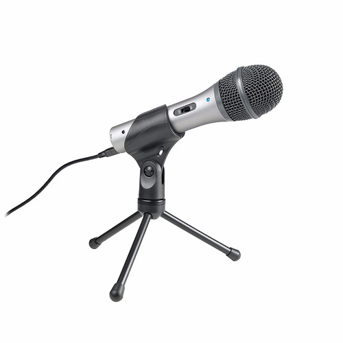 microfono audio-technica atr2100-usb cardioid dynamic usb/xl