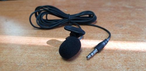 microfono balita para camara, pc, laptop, gps de 1.8 mts