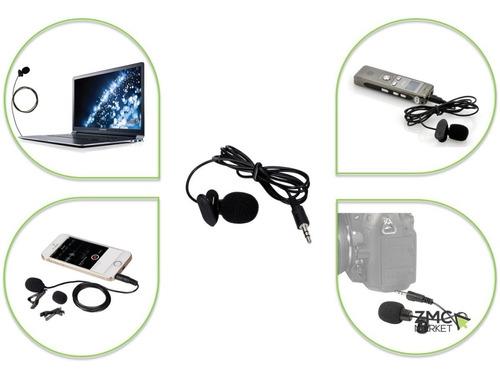 microfono balita para gps camara pc laptop 1.8 mts