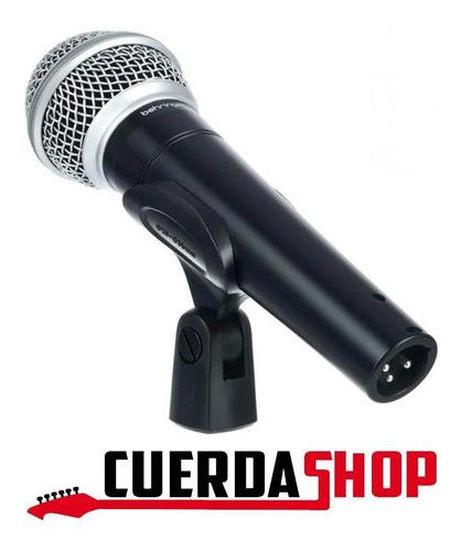 micrófono behringer sl 84c vocal dinámico cardioide