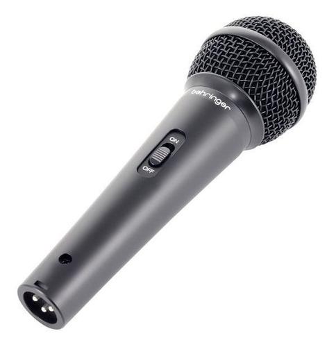 microfono behringer xm1800s  ultravoice xm1800s 3 micrófonos