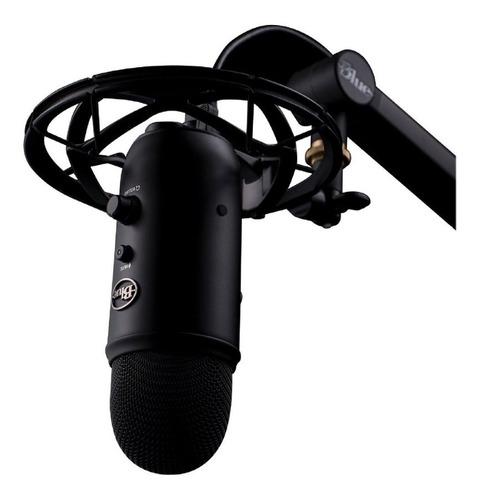 microfono blue yeti caster usb para streaming incluyesoporte