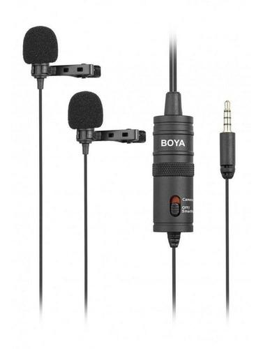 micrófono boya by-m1dm negro