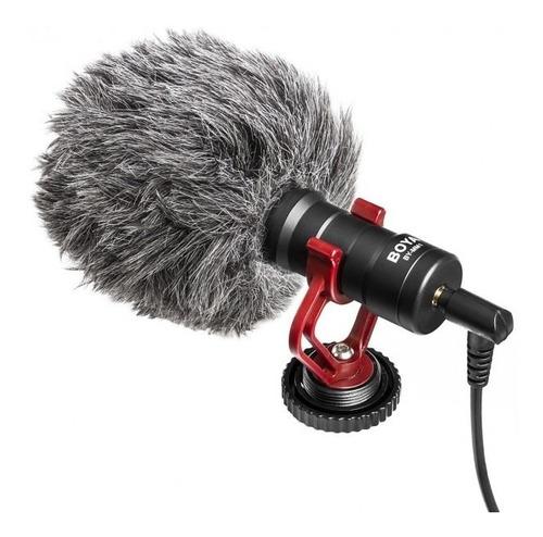 micrófono boya mm1 para cámara foto y video celular ipad