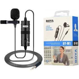 Microfono Boya Solapa Especial Para Camaras Y Celulares