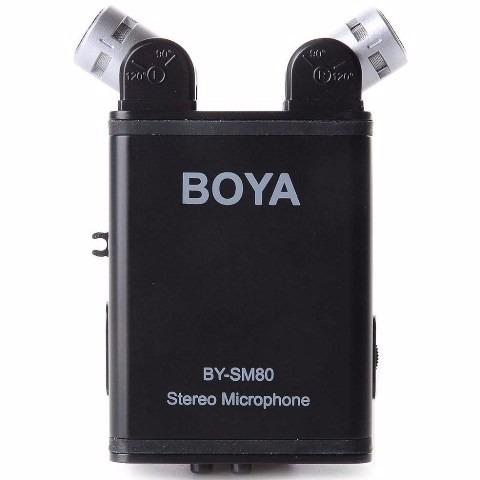 micrófono boya unidireccional para camaras nikon canon sony