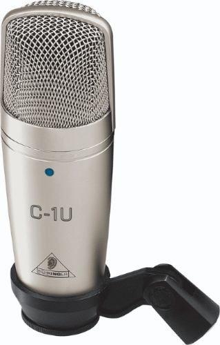 micrófono c1u condensador y soporte escritorio behringer usb