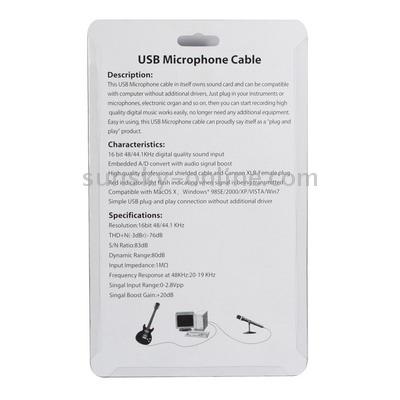 microfono cable usb longitud 3,5