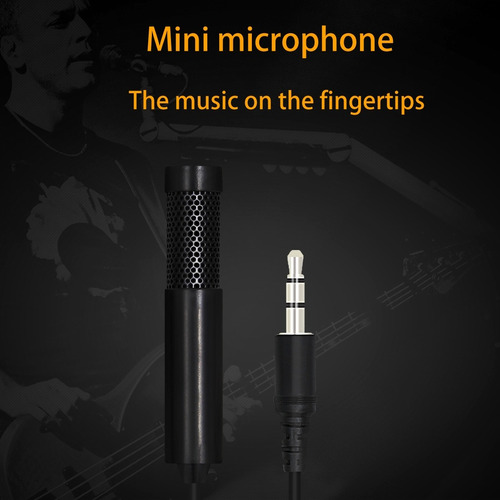 microfono cable yanmai sf555 mini 3.5 profesional negro