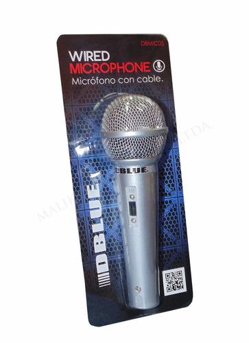 microfono con cable