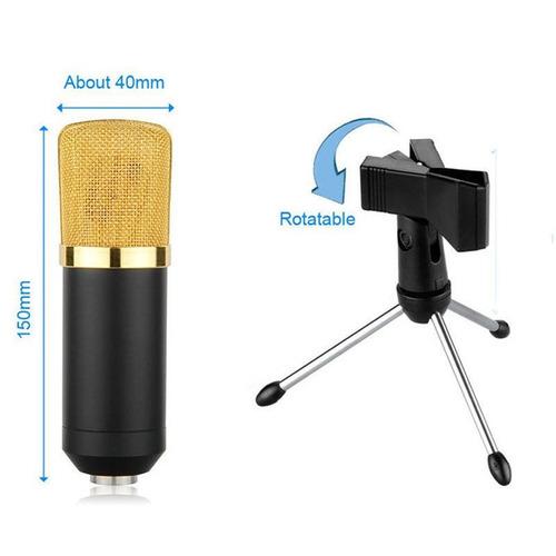 microfono con efectos de sonido, ajuste volumen