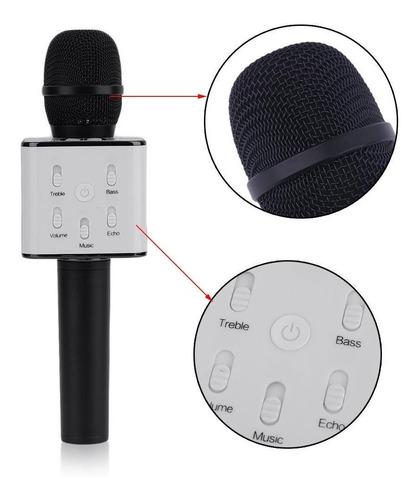 microfono con parlante bluetooth karaoke inalambrico